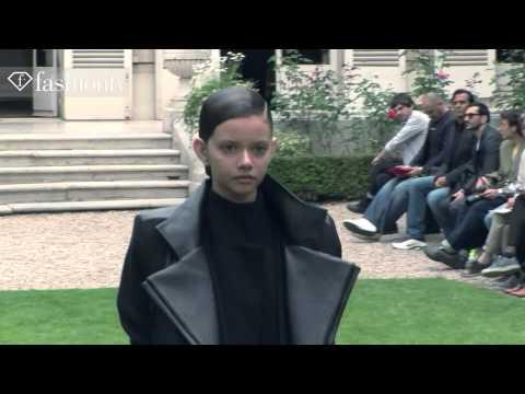 Rad Hourani Couture Fall/Winter 2013-14 Show | Paris Couture Fashion Week | FashionTV