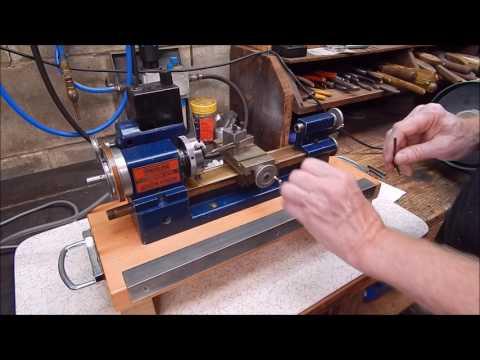 Sherline micro lathe does a Gitup Git2P action cam lens hack