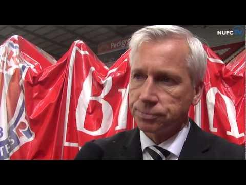 Alan Pardew Speaks After Stoke