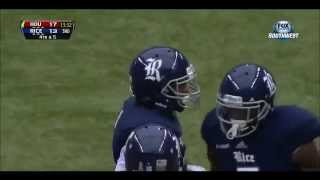 Christian Covington - Rice Football - DT - 2013 Houston Game