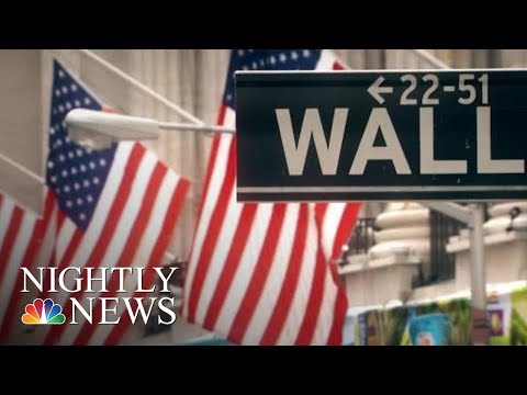 Wall Street Has Largest Single-Day Point Gain Ever | NBC Nightly News