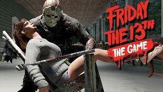 Friday The 13th The Game Gameplay German - Der Lederhautmann