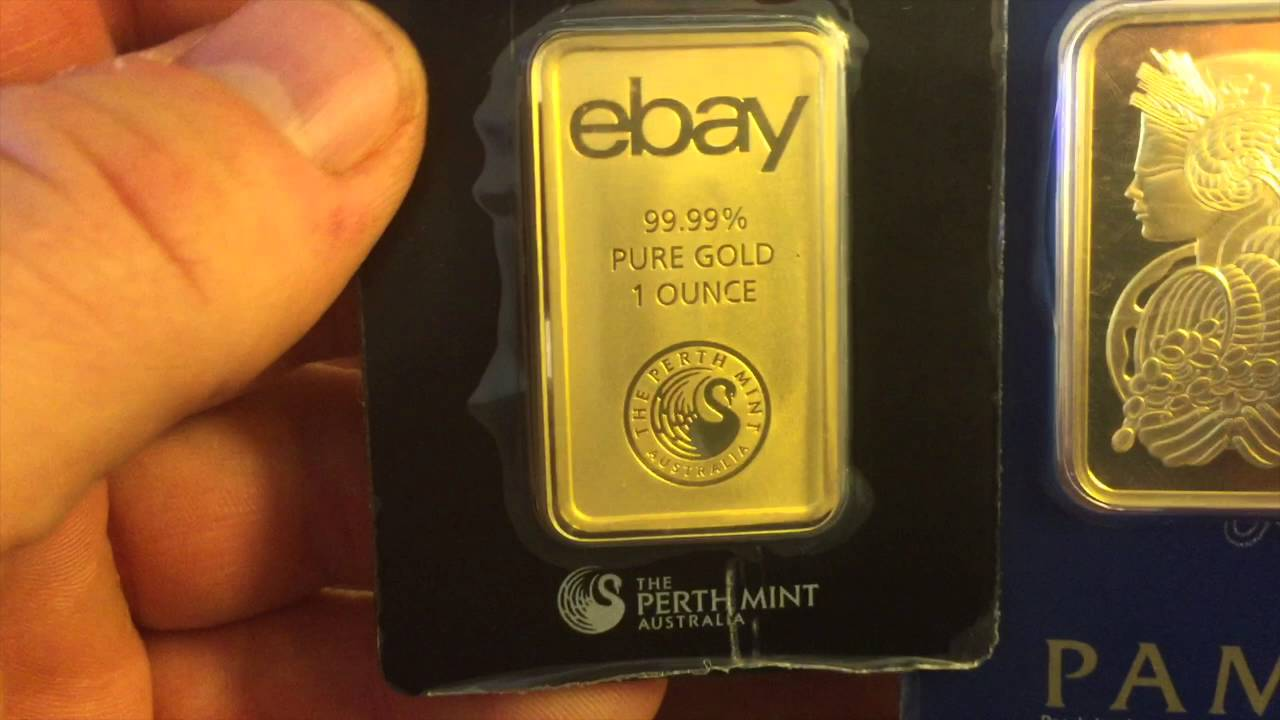 Ebay S 1 Ounce Gold Bar Comparison Shout Outs