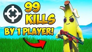 Gambar cover *WORLD RECORD* 99 KILLS BY 1 PLAYER! - Fortnite Funny Fails and WTF Moments! #501