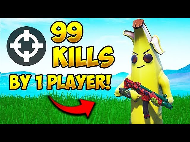 * WELTREKORD * 99 TÖTE DURCH 1 SPIELER! - Fortnite Funny Fails und WTF Moments! # 501 + video
