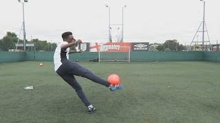 One of Manny's most viewed videos: VOLLEY CROSSBAR CHALLENGE!!!