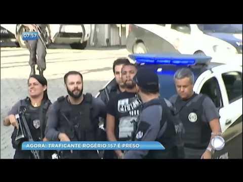 Exclusivo: traficante Rogério 157 é preso nesta quarta-feira (6) no Rio de Janeiro