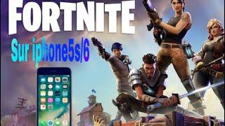 comment jouer fortnite sur iphone5s 6 - comment avoir fortnite sur iphone 5s