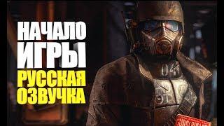 нОВАЯ ИГРА С ПОЛНОСТЬЮ РУССКОЙ ОЗВУЧКОЙ, ПРОХОЖДЕНИЕ С ВЕБКОЙ  Fallout: New Vegas #1