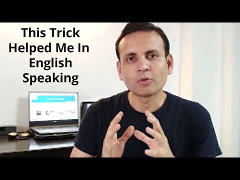 Easiest way to learn English Speaking | Tips for English Speaking | Hindi to English Medium