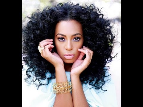 Dreamy Bouncy Curls Solange Knowles Inspired Hairstyle