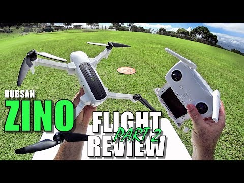 Hubsan ZINO Flight Test Review - PART 2 - [Intelligent Flight Modes, Tracking, Pros & Cons] 🚁