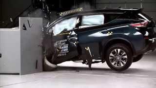 Краш Тест Nissan Murano 2015