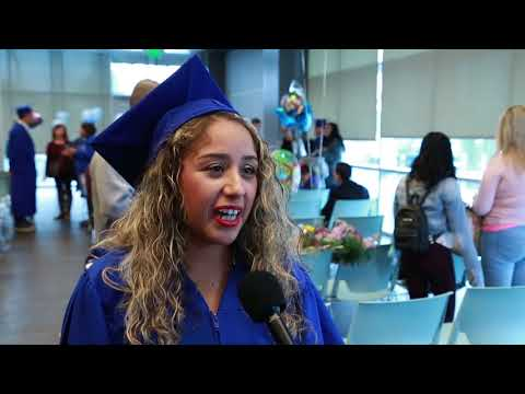 Career Online High School Graduation at the Long Beach Public Library