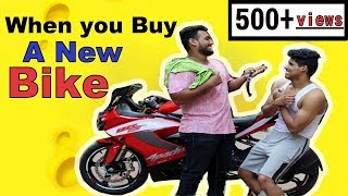When You buy A New Bike | part-1 | Apache RR 310 | #alamothashana