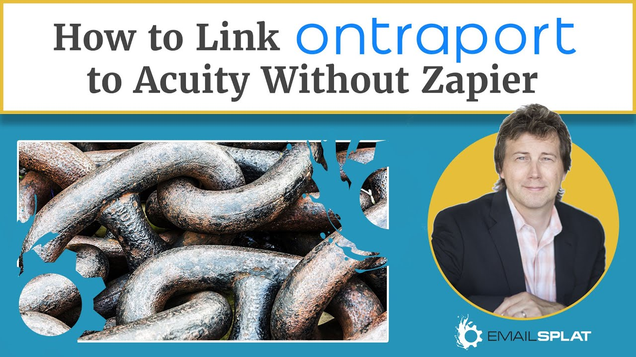 How to Link Ontraport to Acuity Without Zapier - Email Splat