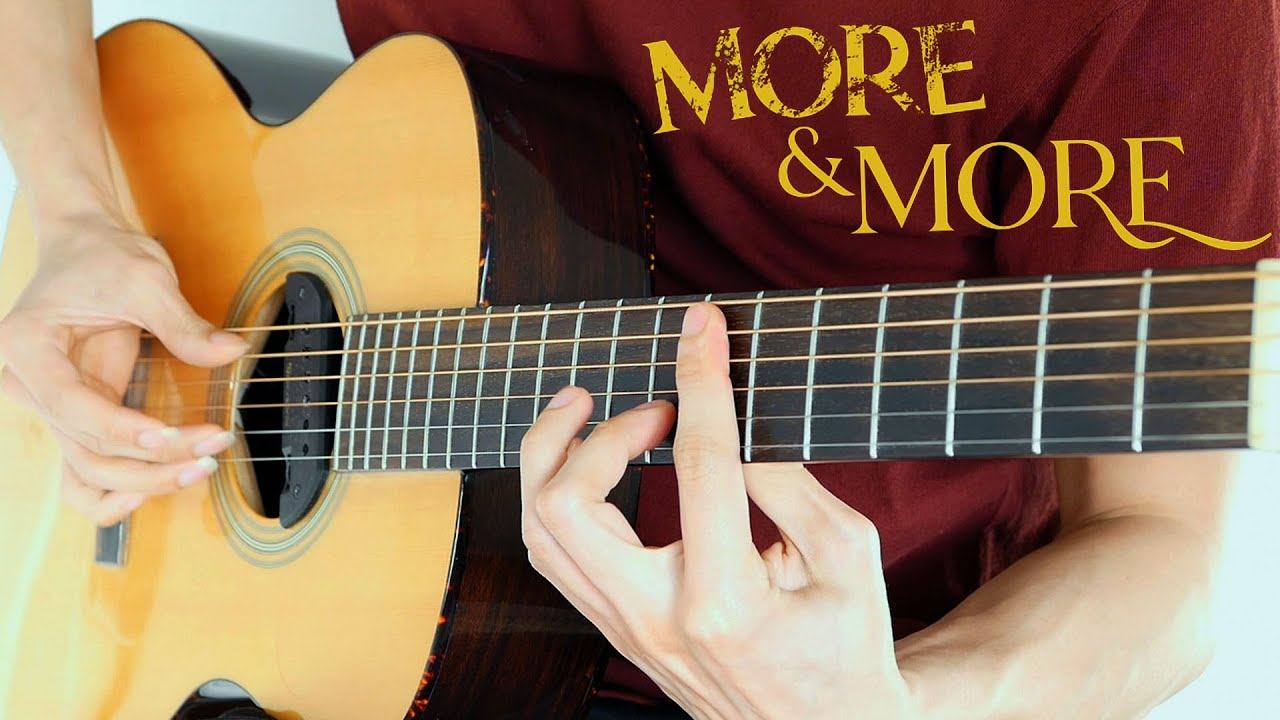 Twice - More & More   Fingerstyle Guitar Cover