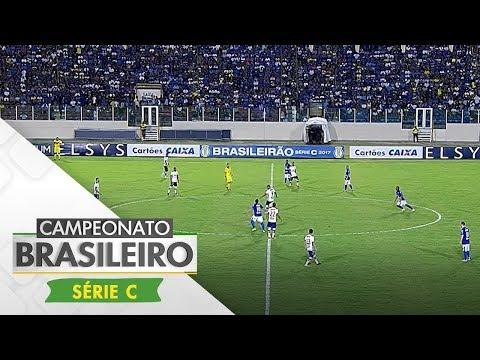 Melhores Momentos - Confiança 2 x 0 Fortaleza - Série C (03/09/2017)