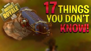 FORTNITE Battle Royale - 17 THINGS You STILL Don