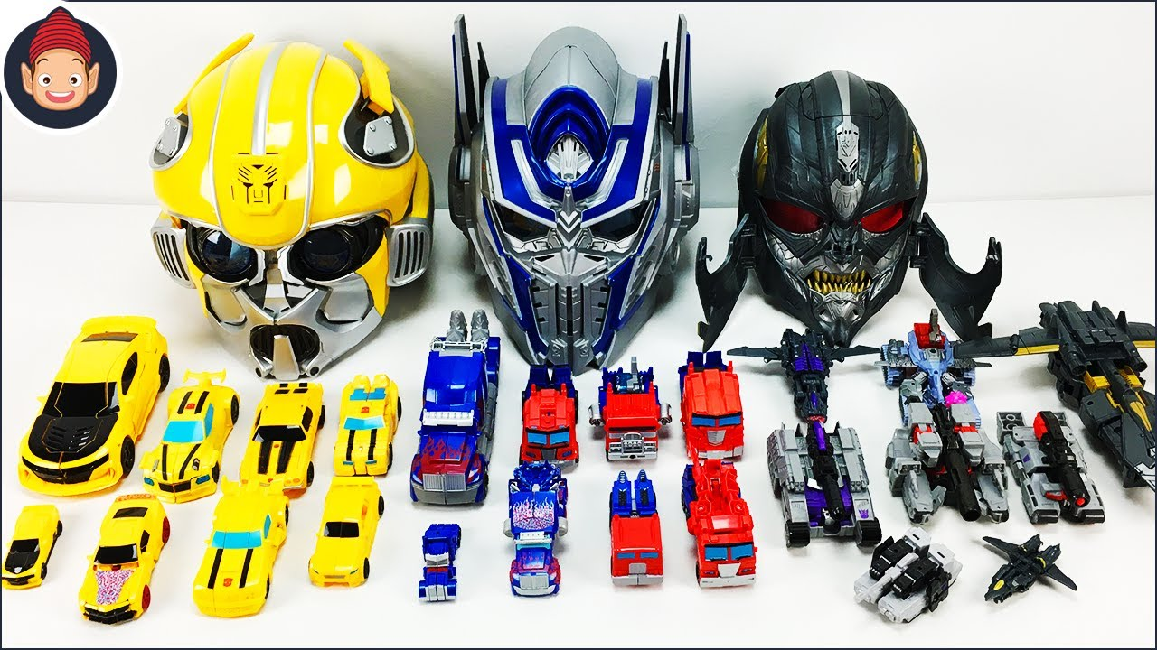 Transformers Toys Transformers Bumblebee And Optimus Prime Megatron Robot To Car Collection Youtube