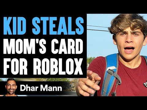Kid STEALS Mom's Card For ROBLOX, He Instantly Regrets It | Dhar Mann