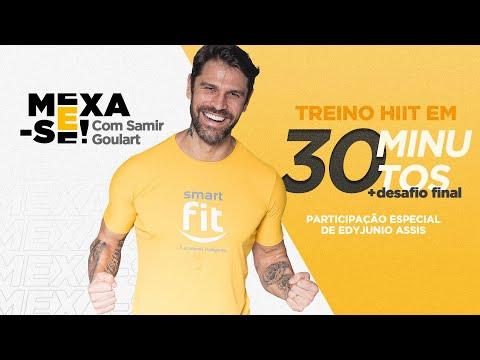 Mexa-se com Samir Goulart | HIIT em 30 minutos + desafio final com Edyjunio Assis