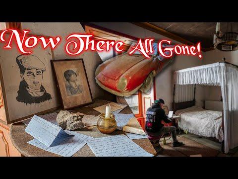 ABANDONED MANSION FAMILY HAVE GONE!   Everything Got Left Behind