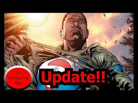 Black Superman Reboot Updates!