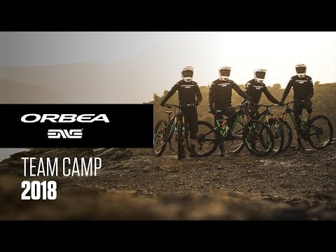 First Team Camp, preparing the comeback to the EWS | Orbea Enduro Team