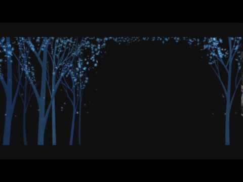 Новогодние футажи Узор деревья