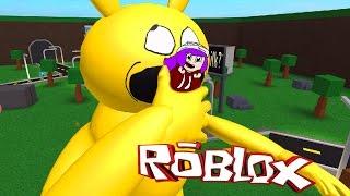 ROBLOX ESCAPE A VERY HUNGRY PIKACHU   PIKA DESTROYS WALMART & MCDONALDS   RADIOJH GAMES & MICRO
