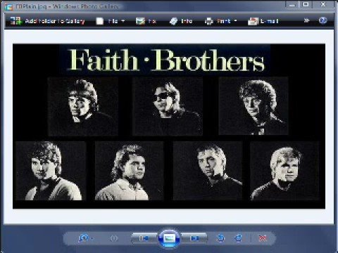 The Faith Brothers - Stranger on Home Ground - InConcert 1985  :