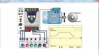 Simulation d'un Variateur de vitesse et Moteur asynchrone - Peguy DOUNTIO