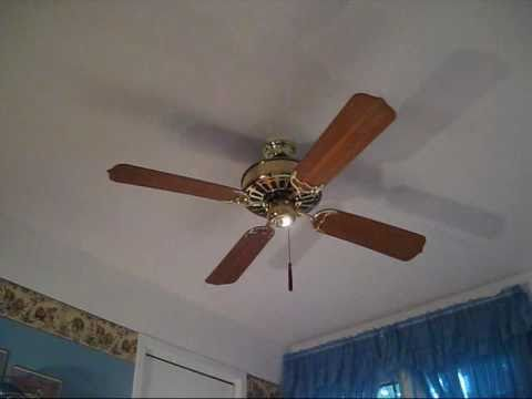 1980 Casablanca Zephyr 132 Cm 52 Ceiling Fan Youtube