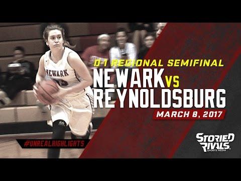 HS Girls Basketball | Newark vs Reynoldsburg [REGIONAL SEMIFINAL] [3/7/17]