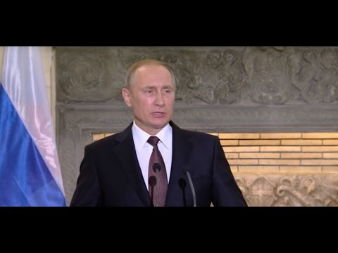 Putin: US anti-missile defence puts Europe in the crosshairs