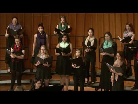 University Chorus - Emma Lou Diemer - Three Madrigals - O Mistress Mine, Where Are You Roaming