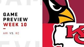 Arizona Cardinals vs. Kansas City Chiefs | Week 10 Game Preview | Pro Football Focus