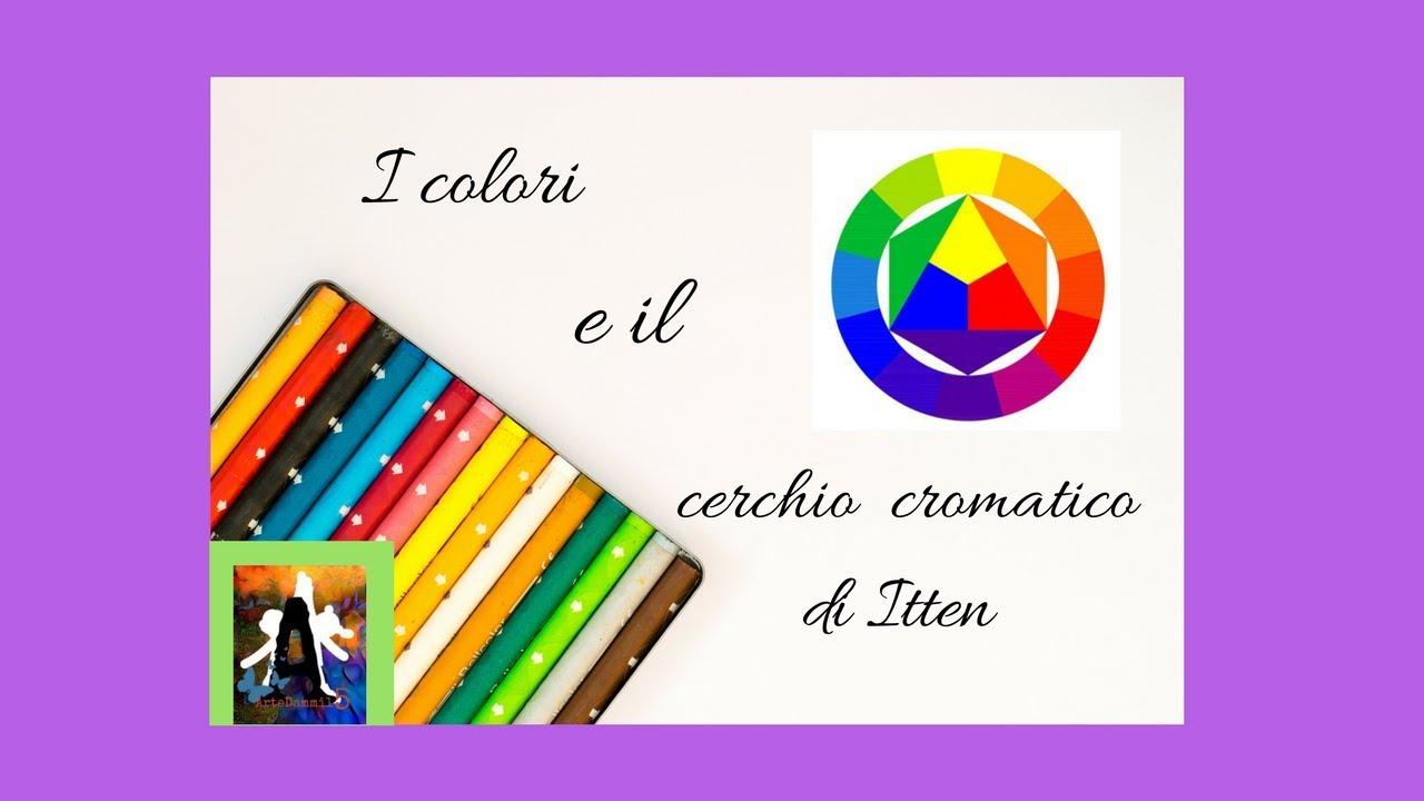 I Colori E Il Cerchio Cromatico Di Itten Youtube
