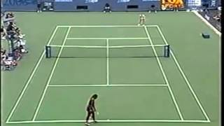 Serena Williams vs Jelena Dokic 2000 US Open 6/7