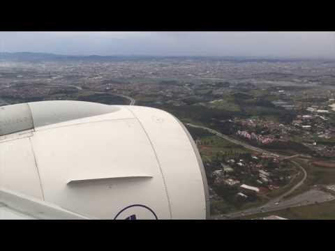 Air France Boeing 777 Landing in Sao Paulo GRU