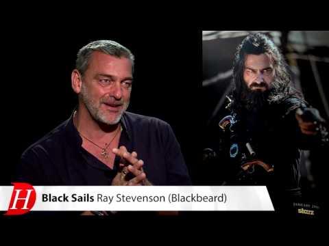BLACK SAILS' Ray Stevenson talks Blackbeard
