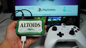알토이즈 사탕 케이스로 미니 콘솔 게임기 만들기 - 민티콘솔파이 DIY, MintyConsole Pi, Making a game console with a Altoids case,