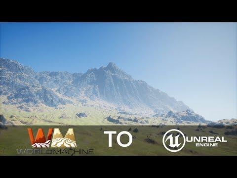 World Machine to Unreal Engine 4 Part 1 (Landscape in World Machine)
