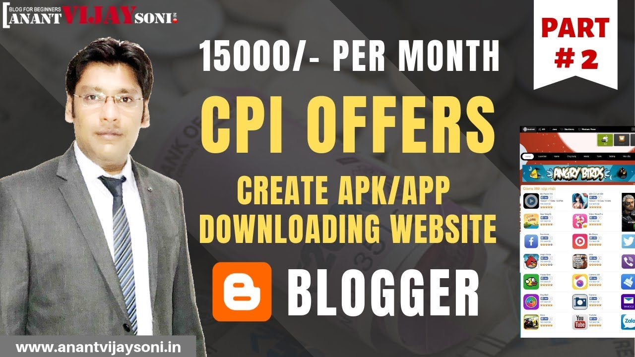 How to Make Money Online from APK & APPS Downloading Website – Best Site for CPI/CPA Offer – Hindi  #Smartphone #Android