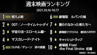 『燃えよ剣』が初登場首位  先週末の映画ランキング2021.10.16-10.17