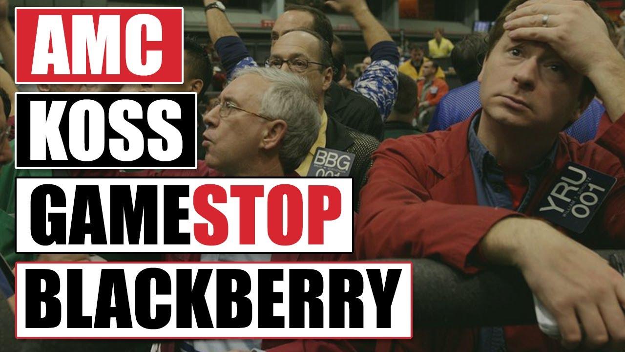Why The Craziness Around GameStop, AMC, BlackBerry And Koss ...