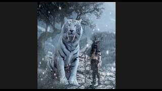Большой тигр (фотошоп)