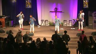 new the walls group live singing and you dont stop