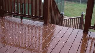 Rain and hail: Relaxing sounds - can`t sleep - pt1of2